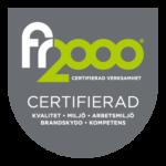 FR2000-Certifiering Öckerö Sotning & Ventilation